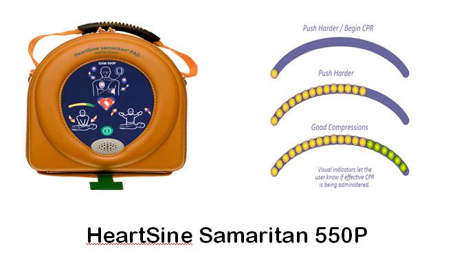 HeartSine Samaritan 550P Defibrillator